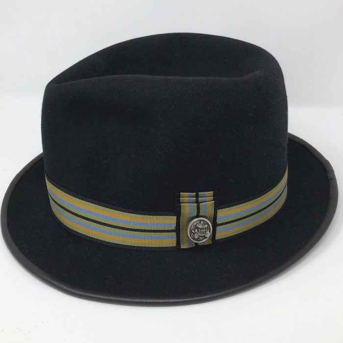Men's Felt Teardrop Crown Fedora