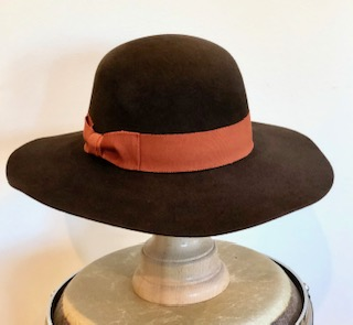 Ladies Autumn Floppy Wide Brim Felt Hat
